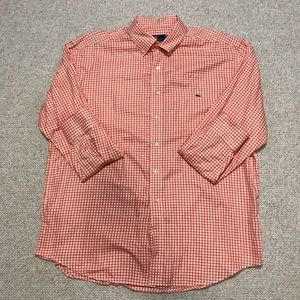 Vineyard Vines Classic Fit Tucker Shirt Size XL
